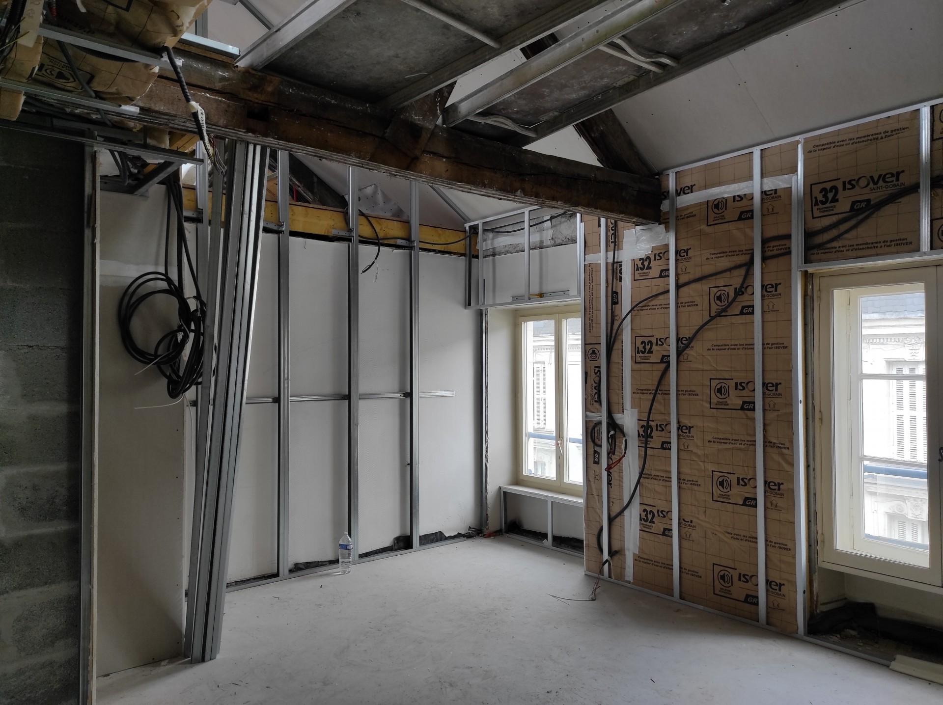 Rénovation d'appartement en cours 1