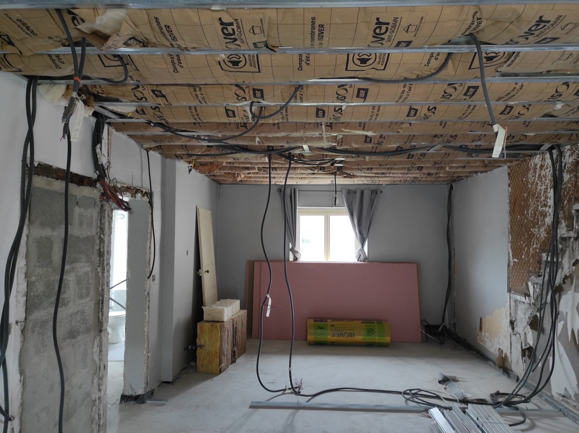 Rénovation d'appartement en cours